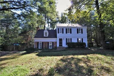 Richmond Single Family Home For Sale: 3461 Riverview Drive