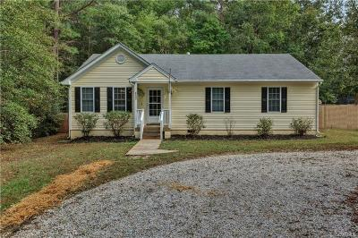 Richmond Single Family Home For Sale: 6533 Hill Road
