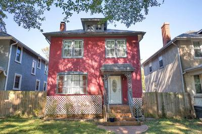 Richmond Single Family Home For Sale: 804 Overbrook Road