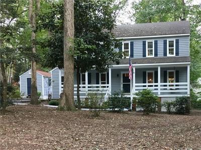 Midlothian Single Family Home For Sale: 3206 Barnes Spring Terrace