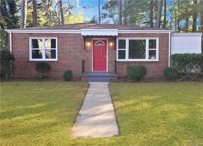 Petersburg Single Family Home For Sale: 420 North Park Drive