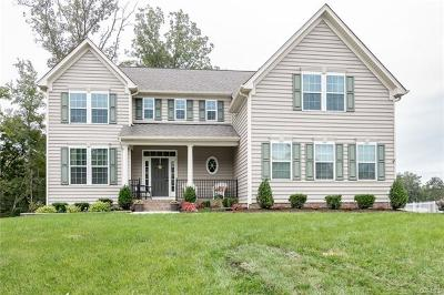 Mechanicsville Single Family Home For Sale: 10112 Meadow Pond Drive