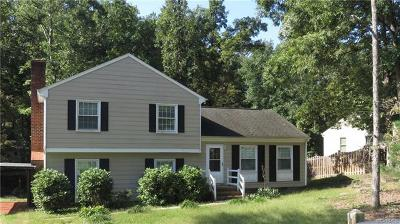 Midlothian Single Family Home For Sale: 2900 McManaway Drive