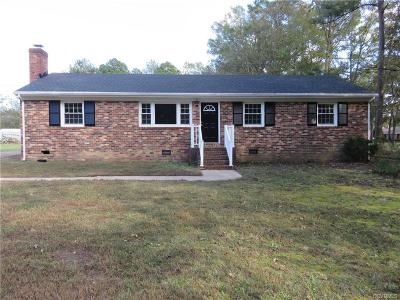 Henrico Single Family Home For Sale: 8573 Strath Road