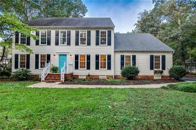 Chester Single Family Home For Sale: 12904 Rivers Bend Road