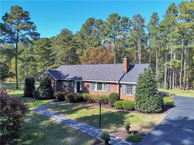 Powhatan County Single Family Home For Sale: 2700 Rocky Oak Road