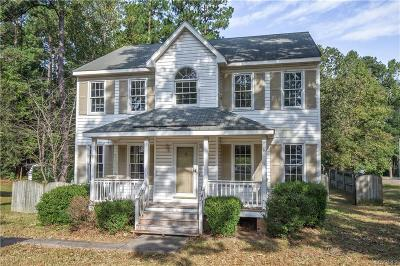 Chester Single Family Home For Sale: 4000 Old Cheshire Drive