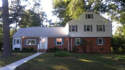 Henrico County Single Family Home For Sale: 2600 Pine Grove Drive