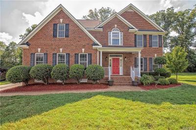 Henrico County Single Family Home For Sale: 9619 Hill Trace Court