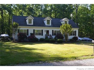 Deltaville Single Family Home For Sale: 342 Moores Pointe Road