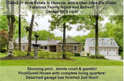 Glen Allen Single Family Home For Sale: 10998 Brookhollow Court