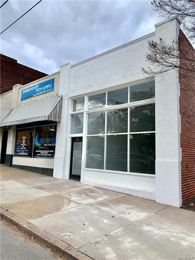 Richmond Commercial For Sale: 917 Hull Street