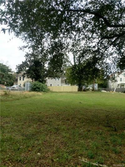 Richmond Residential Lots & Land For Sale: 2015 Greenwood Avenue