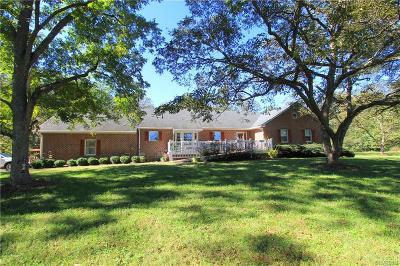 Amelia Single Family Home For Sale: 13256 Dykeland Road