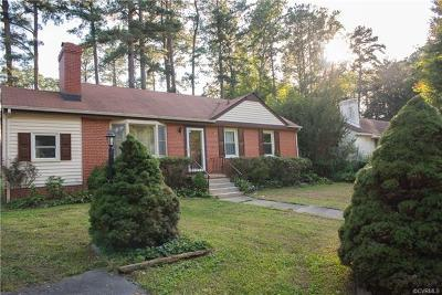 Henrico Single Family Home For Sale: 9017 Farmington Drive