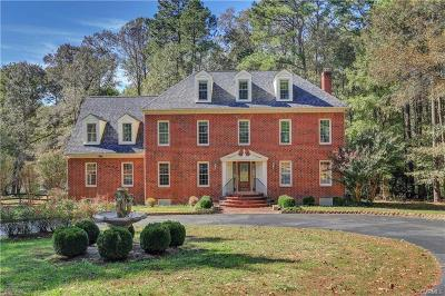 Hanover County Single Family Home For Sale: 7319 Beulah Church Road