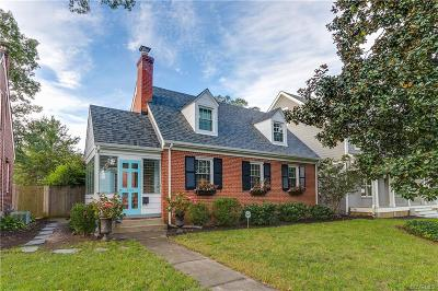 Richmond Single Family Home For Sale: 4715 West Franklin Street
