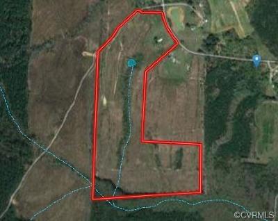 Dinwiddie County Residential Lots & Land For Sale: 00 Hardwood Creek Road