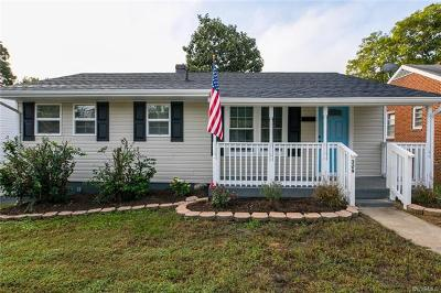 Colonial Heights VA Single Family Home For Sale: $149,900