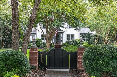 Richmond Single Family Home For Sale: 3819 Brook Road