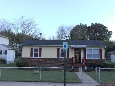 Richmond Single Family Home For Sale: 1215 North 35th Street