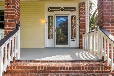 Richmond Single Family Home For Sale: 2913 Montrose Avenue