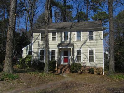 Henrico Rental For Rent: 10400 Silverbrook Drive