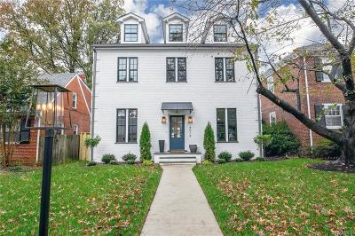 Richmond Single Family Home For Sale: 4019 West Grace Street