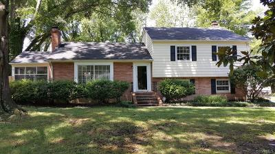 Richmond Single Family Home For Sale: 3110 Marlboro Drive
