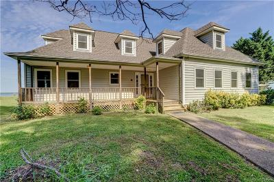 Heathsville Single Family Home For Sale: 37 Potomac Drive