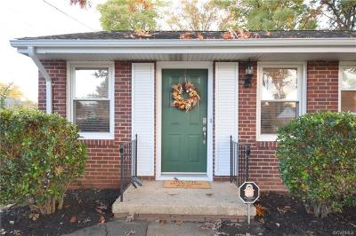Henrico Single Family Home For Sale: 7310 Stoneman Road