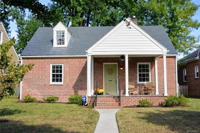 Richmond Single Family Home For Sale: 1506 Nottoway Avenue