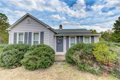 Mechanicsville Single Family Home For Sale: 4484 Rockhill Road