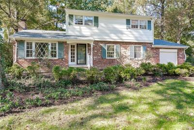 Chesterfield Single Family Home For Sale: 808 Brantley Road