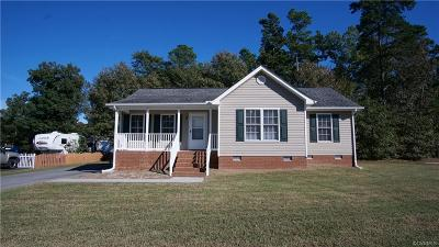 Dinwiddie County Single Family Home For Sale: 4201 Kenneth Drive