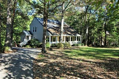 Powhatan Single Family Home For Sale: 2704 Ridgeview Road