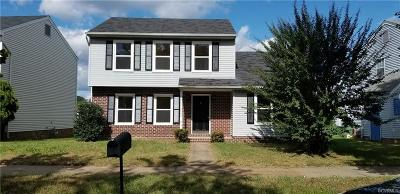 Richmond Single Family Home For Sale: 906 Admiral Gravely Boulevard
