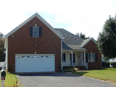 Mechanicsville Single Family Home For Sale: 6763 Crump Drive