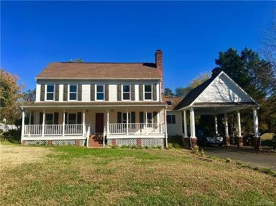 Hanover County Single Family Home For Sale: 9132 Cool Autumn Drive