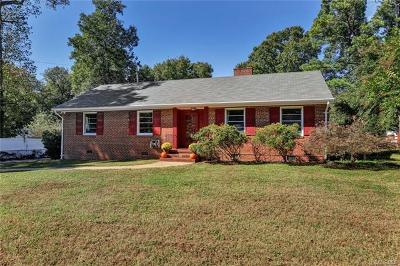 Henrico Single Family Home For Sale: 5900 Shrubbery Hill Road