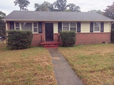 Richmond Single Family Home For Sale: 6025 Keaneland Drive