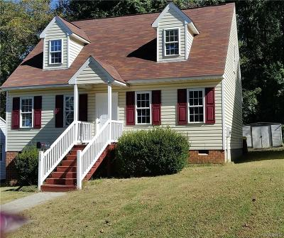 Petersburg Single Family Home For Sale: 429 Terrace Avenue