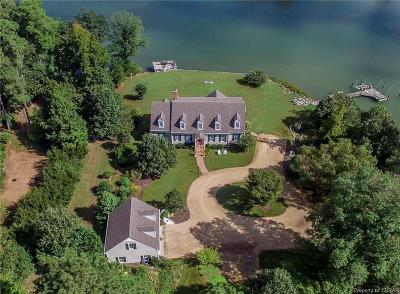 Single Family Home For Sale: 846 Crab Point Road