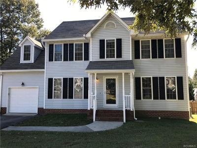 Mechanicsville Single Family Home For Sale: 6963 Cory Lee Court