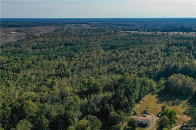 Dinwiddie County Residential Lots & Land For Sale: 16050 Flatfoot Road