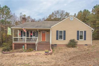 Powhatan Single Family Home For Sale: 1161 Avatar Court
