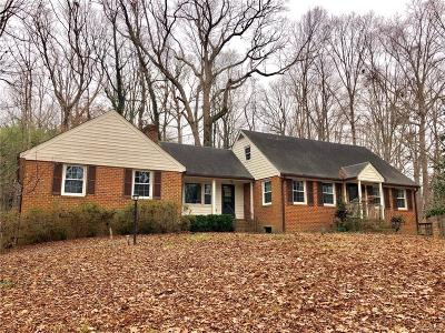 Chesterfield VA Single Family Home For Sale: $214,900
