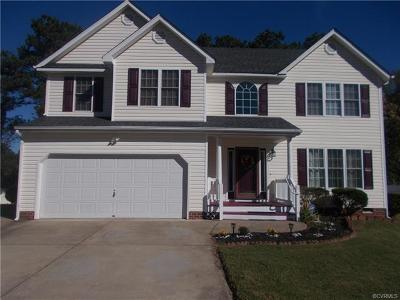 Chesterfield Single Family Home For Sale: 4318 Stately Oak Road