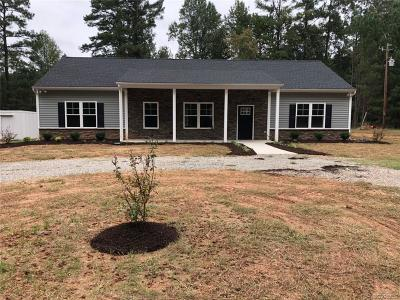 Powhatan Single Family Home For Sale: 6050 Anderson Highway