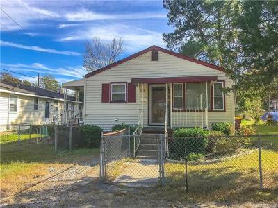 Petersburg Single Family Home For Sale: 1532 Lincoln Street